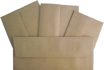 Brown Bag Envelopes - KRAFT - A10 Envelopes