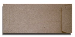 Brown Bag Envelopes - KRAFT - NO. 10 Policy Envelopes