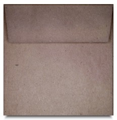 Brown Bag Envelopes - KRAFT - 6 Inch Square Envelopes
