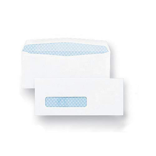 #2 White Blue Tint Envelope 8 5/8 Remoistening Seal 24#