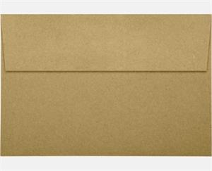 A10 Invitation Envelopes (6 x 9.5) LUXPaper — Grocery Bag 70lbs peel and press