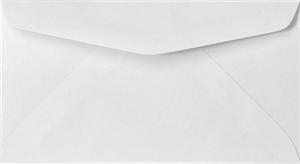 6 3/4 Regular Envelopes (3 5/8 x 6 1/2) — 24lb. Bright White