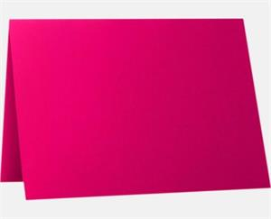 A1 Folded Card Hottie Pink 130lbs
