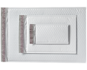 8 1/2 x 11 1/4 AirJacket Mailers White Bubble Peel & Seel®