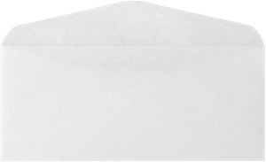 #11 Regular Envelopes (4 1/2 x 10 3/8) 24lbs Bright White & Brown Kraft