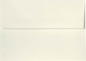 A4 ( 4 1/4 x 6 1/4) Envelopes White, Black & Natural Linen Peel & Press 80lbs