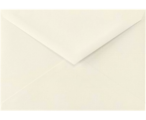 4 BAR Envelopes (3 5/8 x 5 1/8) Natural Linen 80lbs Moistenable Glue
