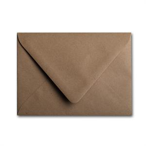 Brown Bag Envelopes - KRAFT - A1 (bar 4) Euro Flap