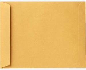 20 X 25 Jumbo Envelopes 28lb. Brown Kraft Box of 500 No Glue Flap Extended