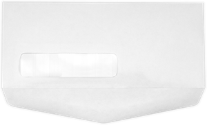 #10 Window Bottom Flap Envelopes