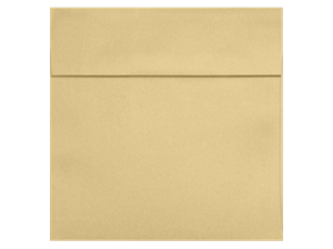 3 1/4 x 3 1/4 Square 80# Peel and Press Metallic Envelopes