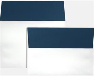 A7 Colorflaps Envelopes (5 1/4 x 7 1/4) LUXPaper — Navy Flap 70lbs