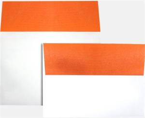 A7 Colorflaps Envelopes (5 1/4 x 7 1/4) LUXPaper — Mandarin Flap 70lbs Peel and Press