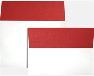 A7 Colorflaps Envelopes (5 1/4 x 7 1/4) LUXPaper — Ruby Red Flap 70lbs