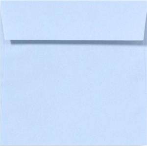 BABYBLUE 5.5 Square Envelopes 80lbs Peel and Press