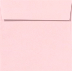 CANDY PINK 5.5 Square Envelopes 80lbs Peel and Press