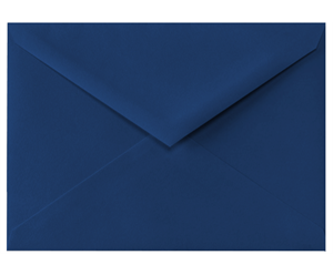 4 BAR Envelopes (3 5/8 x 5 1/8) Navy  80lbs Moistenable Glue