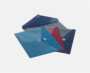 9.5 x 11 Poly Button & String Booklet Envelopes Pack of 64