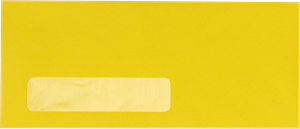 #10 Window Envelope (4 1/8 x 9 1/2) 16 Bright Envelope 60#