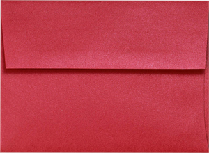 A2 Invitation Envelopes (4 3/8 x 5 3/4) 20 Metallic Bright Colors Peel and Press