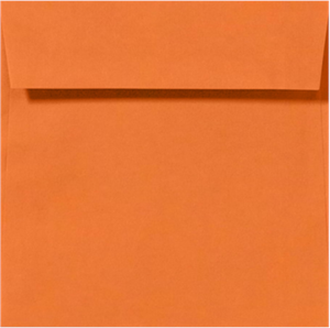6 1/2 x 6 1/2 Square Envelopes Comes in 17 Bright Colors 80#