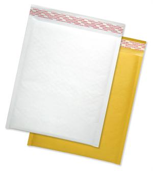 (6.25 X 9), Bubble Mailer White Kraft, 250/Case