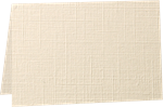 A6 Folded Card (4 5/8 x 6 1/4) Natural Linen 100#