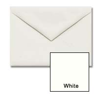"Cougar Announcement Envelope (5 1/4"" x 7 1/4"") A7 White or Natural Envelopes   Vellum Finish"