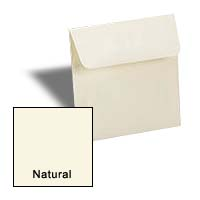 Square Envelopes - NATURAL - 5 in SQUARE Envelopes
