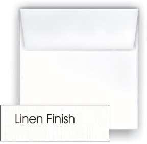 Neenah CLASSIC LINEN 7.5 Inch Square Envelopes 80#