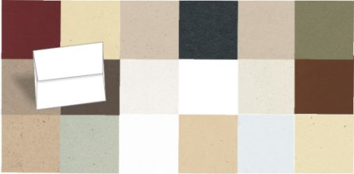 French Paper - Speckletone -Vellum Finish - A10 Envelopes (28/70) Black, Brown or Chocolate