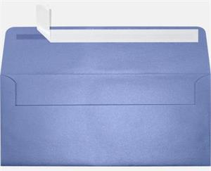 #10 Square Flap Metallic Envelopes (4 1/8 x 9 1/2) 80# Comes in 18 Colors PEEL AND SEAL