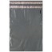 7.5 x 10 gray Recycled Poly Mailers #2 - Returnable w/ Perforation 2.5 Mil case 1000