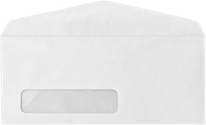 #11 Window Envelopes (4 1/2 x 10 3/8) 24lbs Bright White