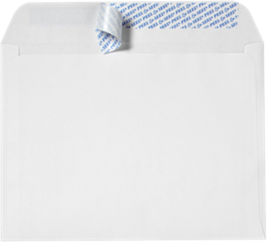 Booklet Envelopes - 28lb WHITE WOVE - Peel & Seel - (9 x 12)