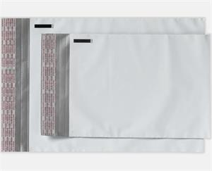 24 x 24 Plastic Mailers White Plastic Peel and Seal