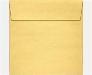5.5 x 5.5 Square Envelopes Stardream Gold Metallic