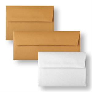 "Aveo #10 (4 1/8"" x 9 1/2"") Square Flap Envelopes 80# Text Textile Finish"
