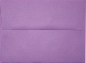 A7 Invitation Envelopes (5 1/4 x 7 1/4) Comes in Many Colors 80# Peel and Press