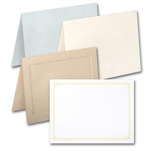 "Neenah Environment  A2 (5 1/2"" x 8 1/2"" open size (4 1/4"" x 5 1/2"" folded size) )Card and Folder in Different Designs"