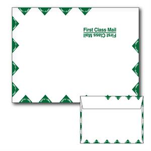 9.5 X 12.625 WHITE WOVE BOOKLET FIRST CLASS MAILER 28LBS BULK OF 500