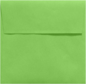 LIMELIGHT 5.5 Square Envelopes 80lbs Peel and Press