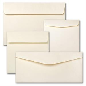 "Springhill Opaque Cream 7.5"" Square 60# Text Envelopes Natural Wove Envelopes"