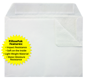 9 x 12 Booklet Envelopes 38lbs White-Pillowpak