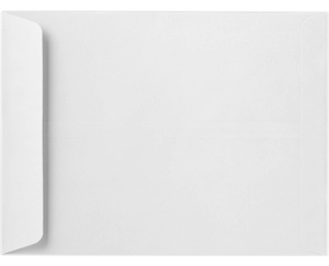 8 3/4 x 11 1/4 Open End Envelopes 28lb. Bright White Peel & Press™