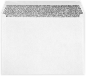 9 x 12 Booklet Envelopes White with Security Tint